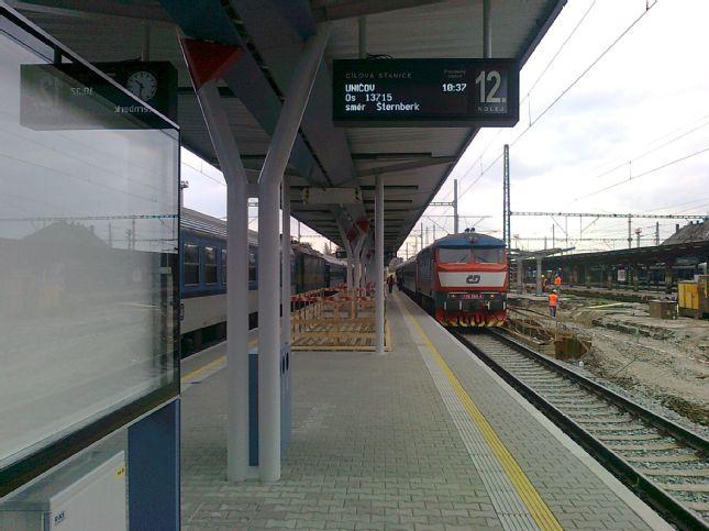 Rekonstrukce žst. Olomouc