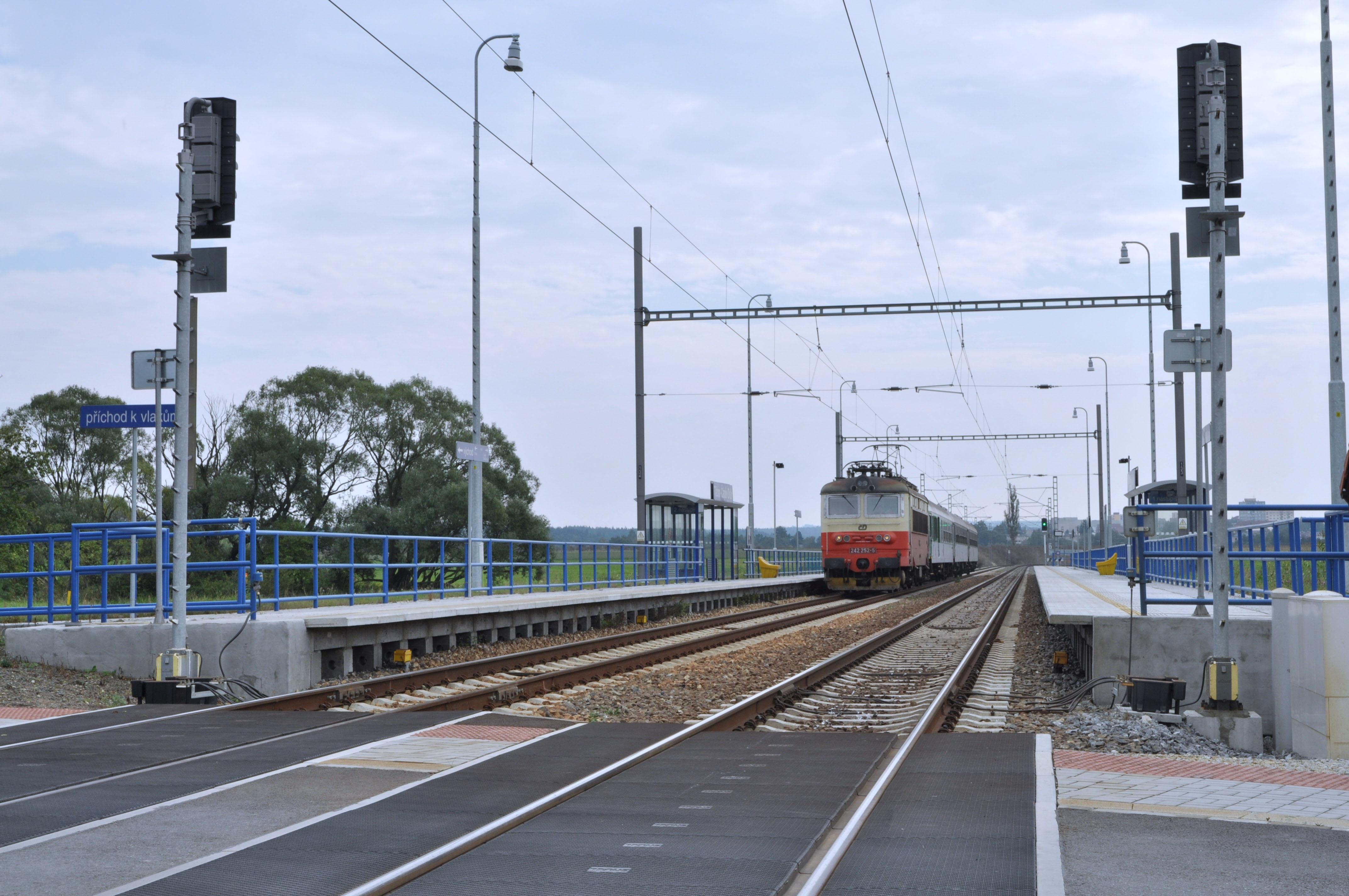 Modernizace trati Veselí nad Lužnicí - Tábor, 1. část, úsek Doubí u Tábora - Tábor