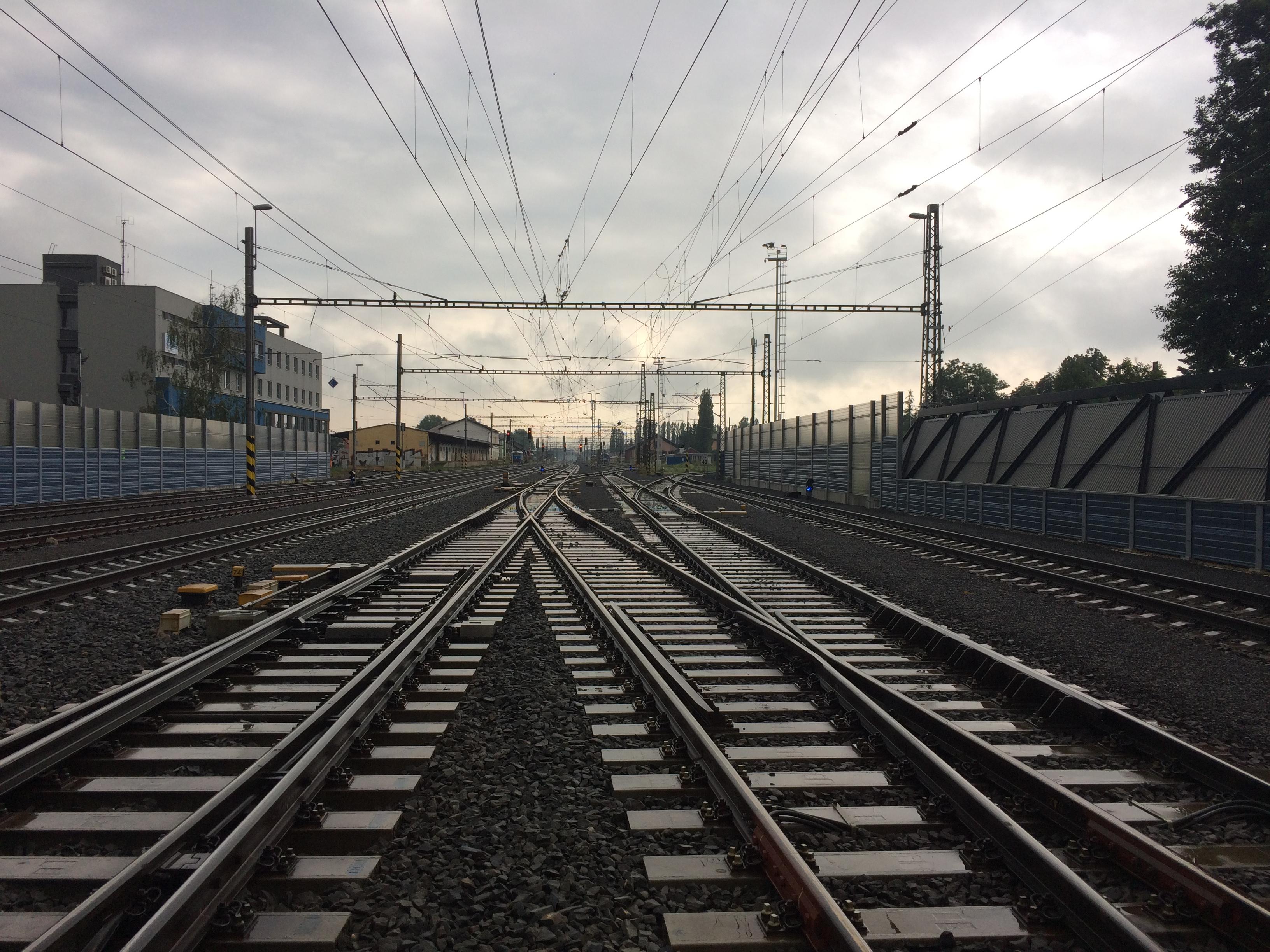 Rekonstrukce žst. Olomouc II fáze