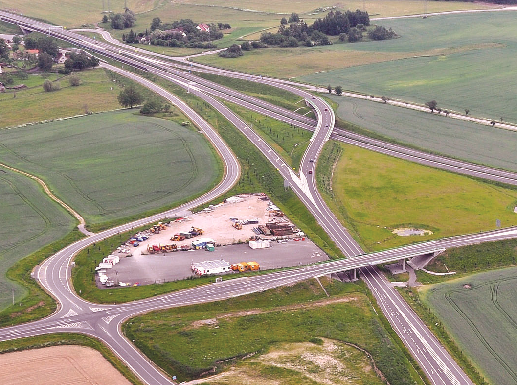 Rychlostní silnice R4 křižovatka I/20 - Nová Hospoda