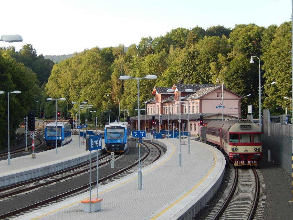 Trať 036 Liberec - Tanvald